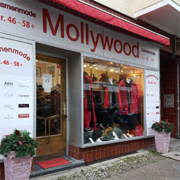 Mollywood - Mode für Mollige - Unser Laden in Berlin-Charlottenburg